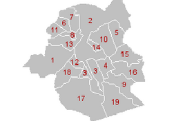La situation financi�re des communes bruxelloises.