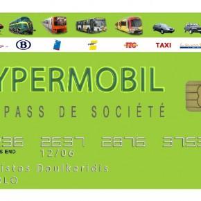 Ecolo propose la carte HYPERMOBIL : une carte unique pour les transports publics et une alternative à la voiture de société