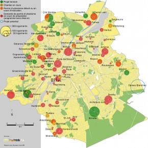 Des nouveaux projets dans le cadre du Plan Logement à Ixelles et Forest
