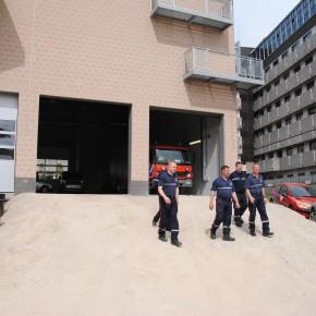 Un nouveau poste avancé du SIAMU à Schaerbeek: plus de sécurité pour les pompiers et pour les citoyens