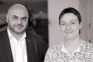 Jortay et Doulkeridis portraits face cam_NB