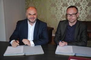 signature protocole coopération avec IEFH 074