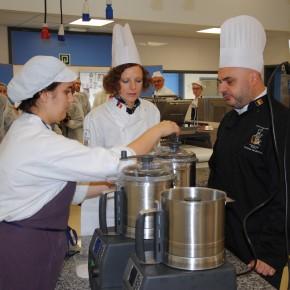 Du matériel de pointe pour les futurs professionnels de l'Horeca au CERIA