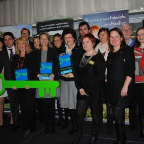 Clé Verte 2013 : le secteur touristique bruxellois s'engage concrètement dans le développement durable
