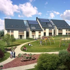 Les premiers logements passifs en chantier à Uccle