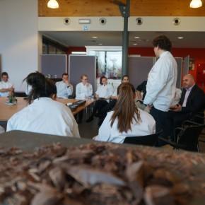 Le CERIA accueille le maître chocolatier Laurent Gerbaud