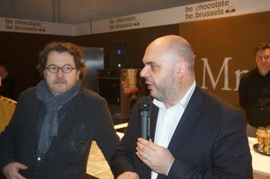 "Inauguration du stand ""Be Chocolate Be Brussels""au Salon Du Chocolat"