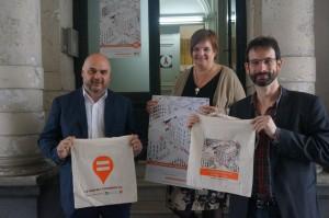 Christos Doulkeridis (Ministre-Président), Bernadette Lambrechts (DG Cocof) et Patrick Charlier (Centre)