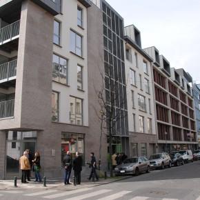 Inauguration de logements pour 39 familles à Saint-Gilles